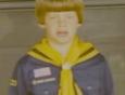 Johnny Gosch as a Boy Scout