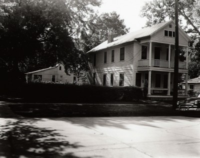The Donna Sue Davis home in 1955