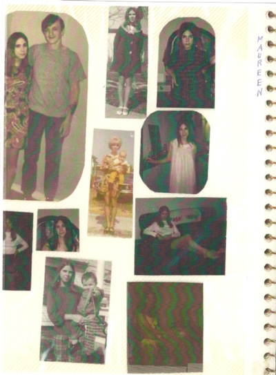 Maureen Farley photo album page