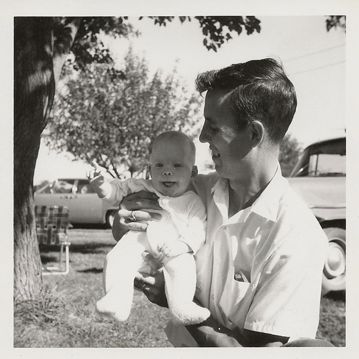 Ray Camp with daughter Kristine