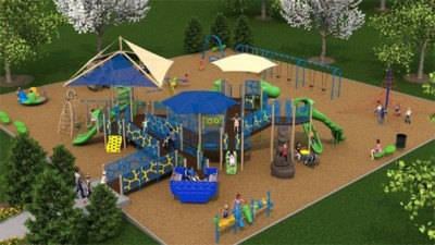 Concept of Ashley Okland Playground (Courtesy KCCI)