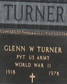 Glenn Turner gravestone