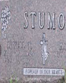 Lowell Stumo gravestone