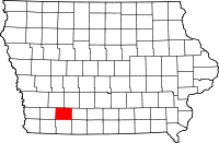 Adams County in Iowa