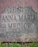 Anna Maria Medici headstone