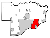 Bettendorf in Scott County