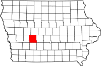 Guthrie County in Iowa