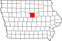 Hardin County in Iowa