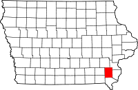 Henry County in Iowa