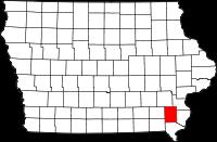 Henry County in Iowa