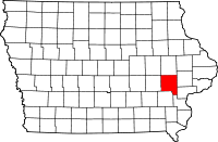 Johnson County in Iowa