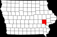 Johnson County in Iowa