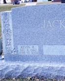 Kevin Jack's headstone