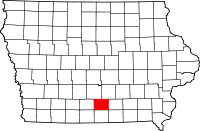 Lucas County in Iowa