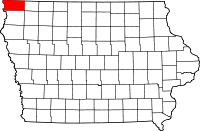 Lyon County in Iowa