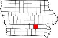 Mahaska County in Iowa