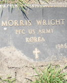 Morris Wright headstone
