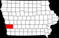 Pottawattamie County in Iowa