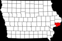 Scott County in Iowa