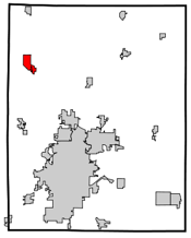 Center Point in Linn County
