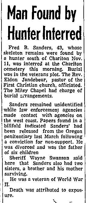 Courtesy The Chariton Herald-Patriot, Dec. 1, 1966