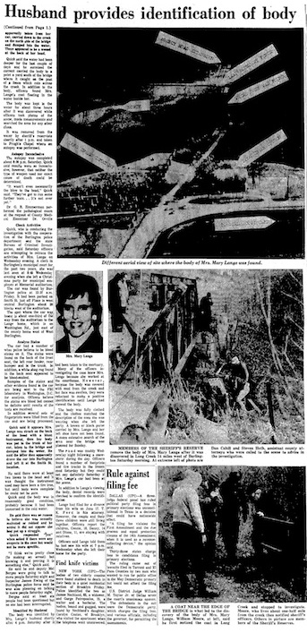 Burlington Hawk-Eye story dated Dec. 20, 1970