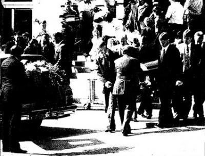 Rhonda Knutson's funeral