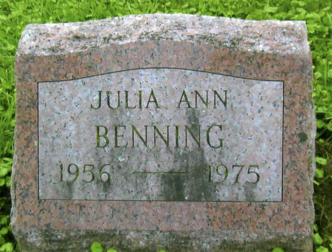 julie-benning-gravestone