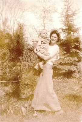 Lillian Randolph with son Hank
