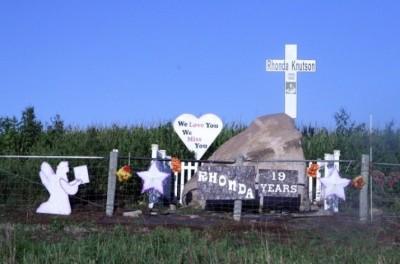 Rhonda Knutson memorial
