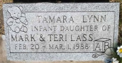 Tamara Lass headstone