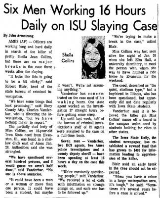 Courtesy The Gazette, Feb. 20, 1968