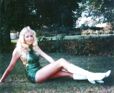 Michelle Martinko 1979 twirler pose