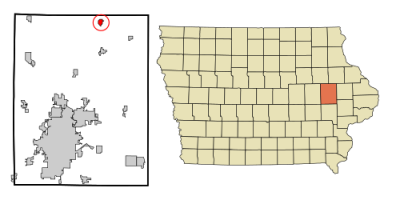 Coggon in Linn County, Iowa