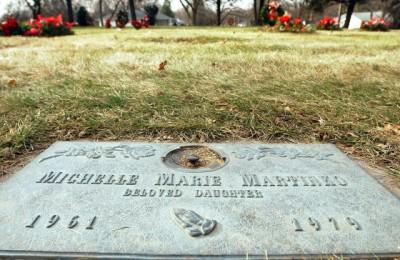 Michelle Martinko Grave site