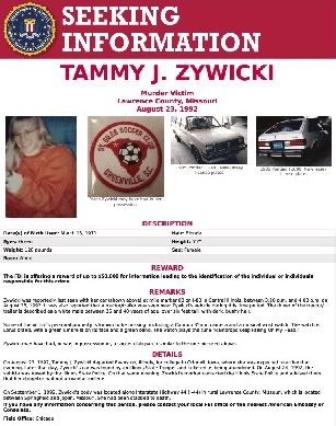 FBI Reward Poster