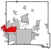 Urbandale in Polk County