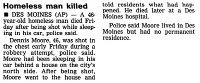 Courtesy Cedar Rapids Gazette, June 20, 1992