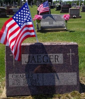 Charles Jaeger headstone