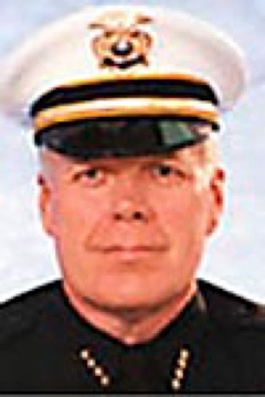 Sioux City Police Chief Joe Frisbie