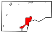 Muscatine in Muscatine County