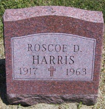 Roscoe Harris gravestone