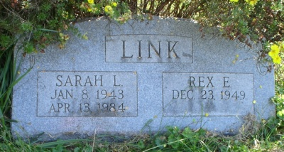 Sarah Link gravestone