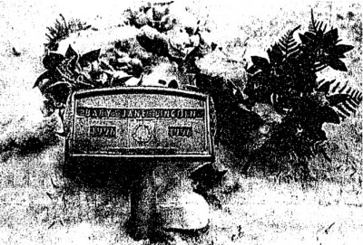 Baby Jane Doe Lincoln's gravesite