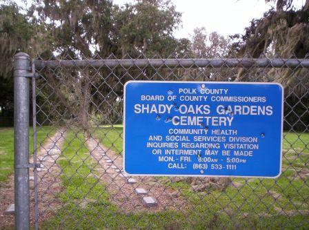 Shady Oaks Gardens Cemetery