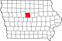 Hamilton County in Iowa