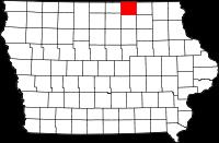 Mitchell County in Iowa