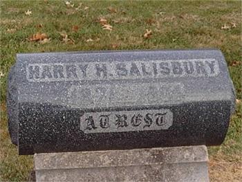 Salisbury tombstone