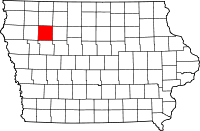 Buena Vista County in Iowa