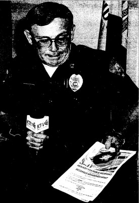 Storm Lake Police Captain Joe Hoye